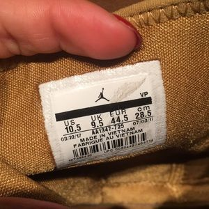 Jordan Shoes - Air Jordan Trunner LX High Golden Harvest Sneakers